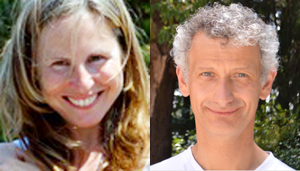Melanie Delval und Terry Spinelli